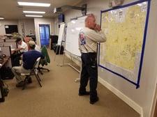 Hurricane Michael emergency center