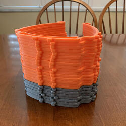 safety mask parts made by 3D printer