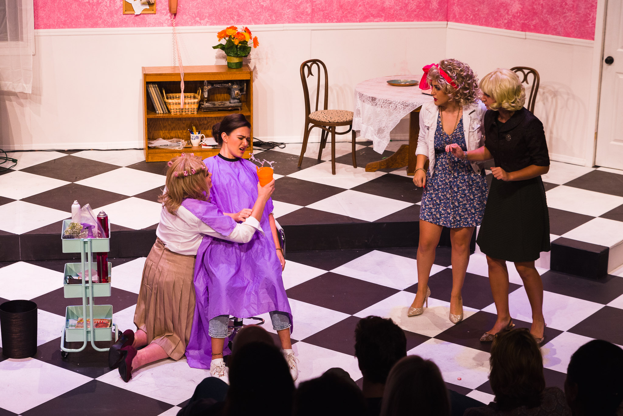 Tampa Prep students perform in Steel Magnolias
