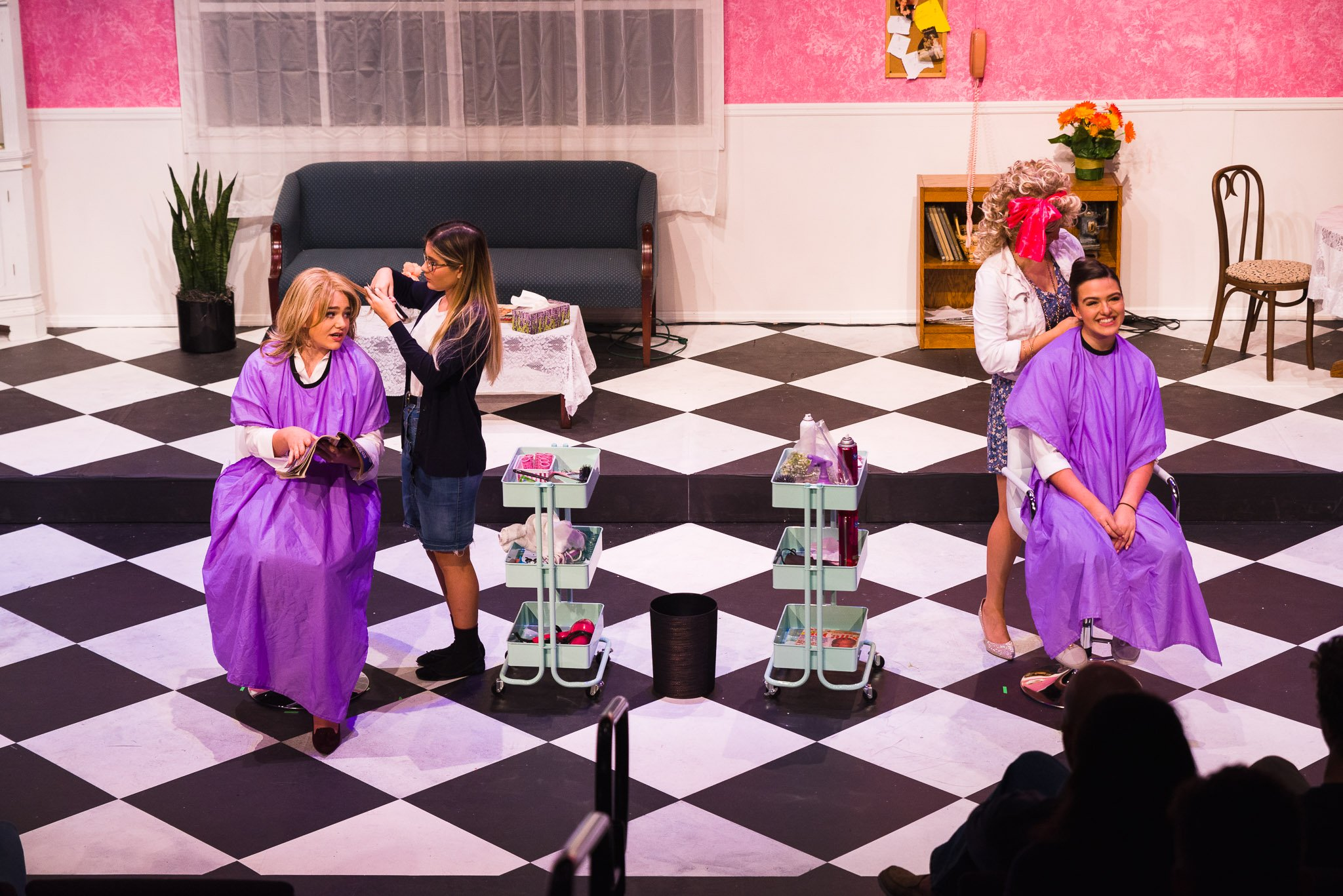 Student-Led Production of Steel Magnolias