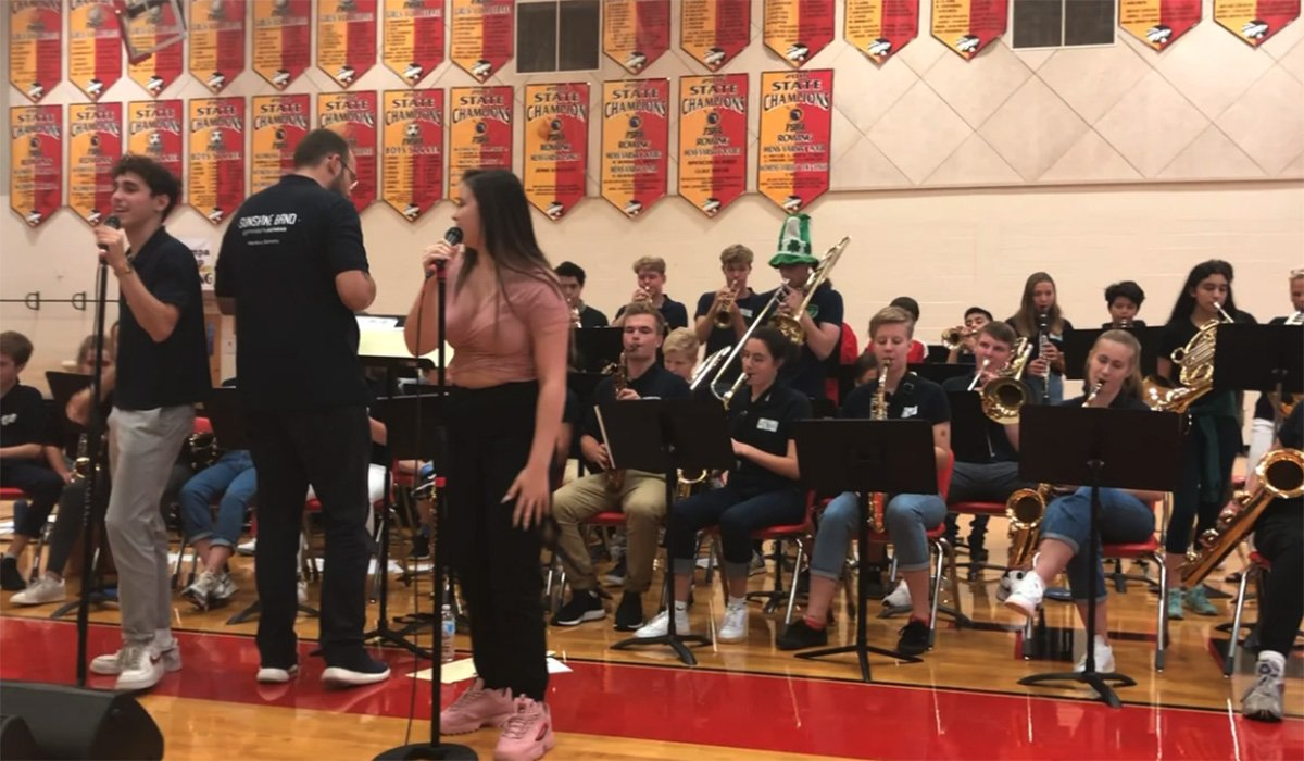 German Sunshine Band Hochrad School Stays and Plays with Tampa Prep